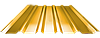 Профнастил ПН 35, полимер (0,50мм толщина)