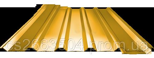 Профнастил ПН 35, полимер (0,75мм толщина)
