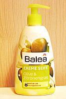 Жидкое крем-мыло Balea с ароматом оливы с дозатором 500 мл