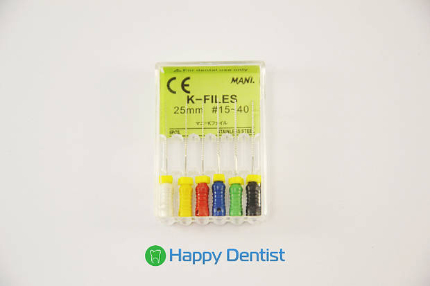 K-FILES Mani (К-файлы Мани) 25мм