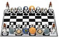 Шахматы с фигурами космической тематики