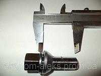 Болт M14X1,50X28 Хром Подстроечный конус +-1мм ключ 17мм