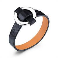 """Шкіряний браслет """"Ring"""" кожаный браслет, браслет из кожи під замовлення, різних кольорів"""
