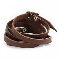 """Шкіряний браслет """"Rope"""" кожаный браслет, браслет из кожи під замовлення, різних кольорів"""