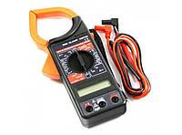 Мультиметр DT 266 FT, токовые клещи, Тестер мультиметр токоизмерительные клещи, цифровой тестер мультиметр