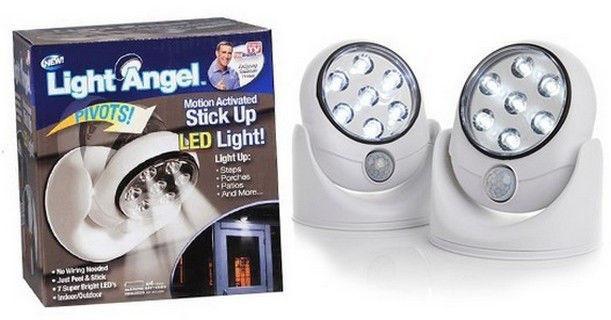Светодиодная универсальная подсветка Light Angel, светильник с датчиком движения, светодиодный светильник - MegaSmart в Днепре