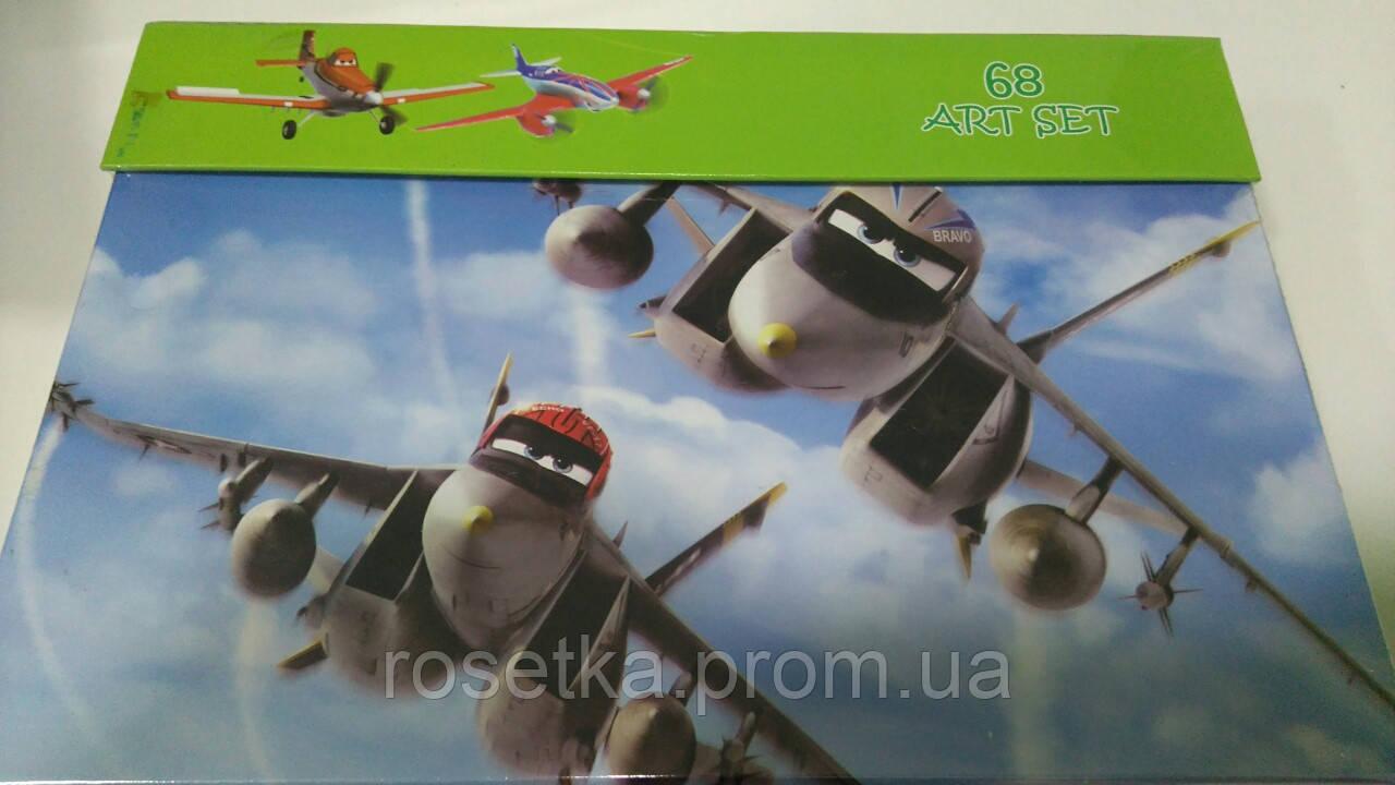 Детский набор для рисования на 68 предметов, 68 art set, Летачки