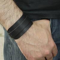 """Шкіряний браслет """"Amsterdam2"""" кожаный браслет, браслет из кожи під замовлення, різних кольорів, фото 1"""