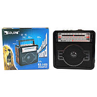Радио RX 1405, радиоприемник с mp3 плеером, ФМ радио, портативное радио, Колонка MP3 USB радио