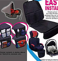 East install, Автомобильная накидка органайзер на сиденье, накидка на сиденье, накидка с органайзером