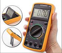 Цифровой профессиональный мультиметр DT-9205A, прибор мультиметр digital multimeter, компактный мультиметр