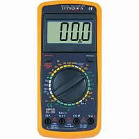 Карманный мультиметр тестер напряжения, Мультиметр DT 9208A , компактный мультиметр, цифровой мультиметр