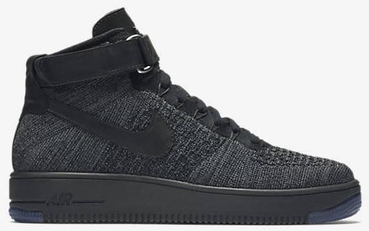 bb01c4e9b5f8 Купить Кроссовки Nike Air Force 1 Ultra Flyknit Dark Grey  продажа ...