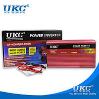 Преобразователь инвертор AC/DC AR 4000W (c функцией плавного пуска преобразователя), Автомобильный инвертор