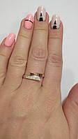 Кольцо Тая золото и серебро, фото 1
