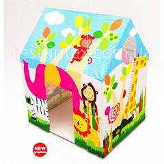 Intex 45642 (95x107x75 см.) Игровой домик-палатка Веселый коттедж