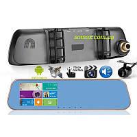 Видеорегистратор/ GPS навигатор -зеркало Eplutus D21 с 2 камерами