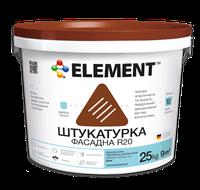 Штукатурка ELEMENT R20, дубовая кора 25кг