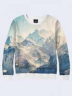СВИТШОТ SNOWY MOUNTAINS; XXS, XS, S, M, L, XL, фото 1