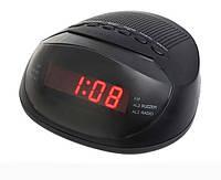Часы с FM Supra 318, Часы сетевые с ФМ Радиоприемником, электронные часы, многофункциональные часы