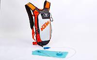 Рюкзак с питьевой системой KTM (PL, р-р 49х16х8см, черный)