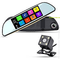 Видеорегистратор/ GPS навигатор(Монитор 7 дюймов-Android)  Eplutus D68