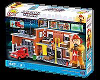 Конструктор Большая пожарная станция, серия Action Town, COBI