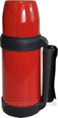 Термос Con Brio 0,6 л. красный, ручка. CB-328, фото 2