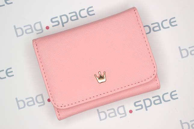 Кошелёк женский Crown Lima, розовый (пудровый), фото 2