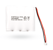 BAT-4V8-N900 NiCd аккумулятор 4.8 В/900 мАч