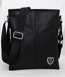 Кожаная мужская сумка Philipp Plein 27*23