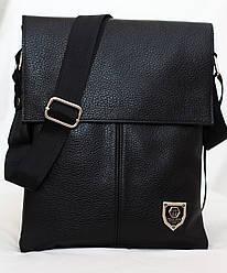 Кожаная мужская сумка Philipp Plein 28*23