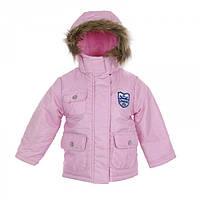Куртка демисезонная розовая для девочки (98/104)