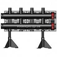 Распределительный коллектор Meibes для монтажа на полу V100 на 2 контура, PN10