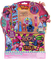 """Набор косметики для лица, волос и ногтей c косметичкой и расчёской """"Тролли"""" Оригинал из США от Dreamworks"""
