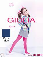 Детские капроновые колготки 80DEN (Dark blue (Синий))