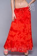 Женская юбка хлопковая 9 цветов лето