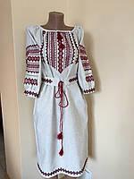 Сукня жіноча вишита в українському стилі ручної роботи