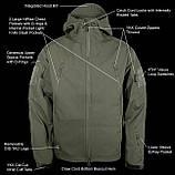Куртка армейская стран НАТО, цвет-СЕРЫЙ, фото 8