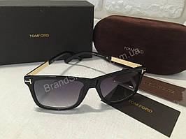 Солнцезащитные очки Tom Ford Lux чёрные MB1524