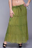 Летняя индийская юбка в пол