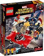 Lego Super Heroes Железный человек Стальной Детройт наносит удар 76077