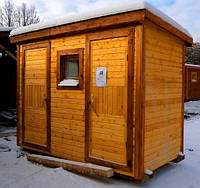 """Душ-туалет садовый 3х1,5м """"базовый"""""""