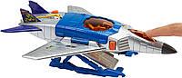 Игровой набор Hot Wheels Большой транспорт Спецтехника City Jet Fueler Aircraft
