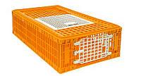 Ящик для перевозки живой птицы 970х580х270 мм двухдверный