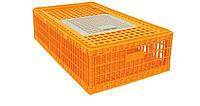 Ящик для перевозки птицы 770х580х270 мм однодверный