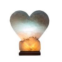 """Светильник соляной «Сердце цветное» SW-1117/Color (4-6 кг), ТМ """"Соляна"""""""