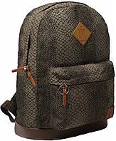Рюкзак Bagland Молодежный 17 л. змія коричнева (00533443)