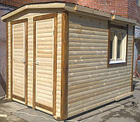Бытовка-хозблок 3х2,3м под душ, туалет и хозблок