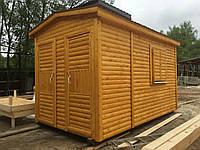 Бытовка-хозблок 3х2,3м под душ, туалет и хозблок.